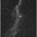 NGC6960, part of the Veil Nebula, 20190811,                                Geert Vandenbulcke
