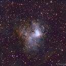 NGC1491 SII-Ha-OIII,                                Daniel Fournier