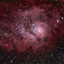 Lagoon Nebula - M8,                                Fabio Zucconi