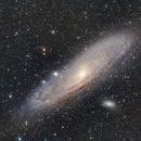 M31 HDR,                                Lensman57