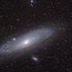 M31/32 Andromeda Galaxy,                                Wirrkopf