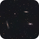Leo Triplet, M 65, M 66 and NGC 3628,                                Berry
