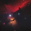 NGC2024 - HORSEHEAD AND FLAME,                                James Baillies