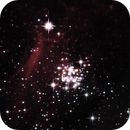 NGC 3293 Aglomerado Aberto 15-02-2021  (crop),                                Wagner