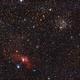 M52 and Bubble Nebula,                                Mike_K