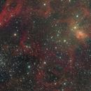 M38, IC417 & NGC1931, a WF color image,                                Niels V. Christensen