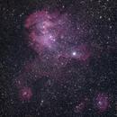 IC 2944 - Running Chicken Nebula,                                Valerio Tettamanti