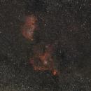 Heart Nebula & Soul Nebula,                                Boštjan Zagradišnik