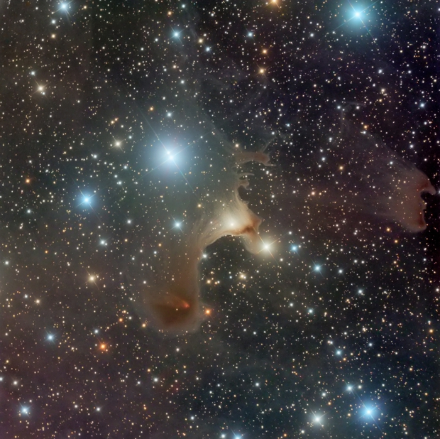 Happy Halloween (The Ghost Nebula, Vdb 141),                                Eric Coles (coles44)