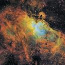 The Eagle Nebula in SHO,                                robonrome