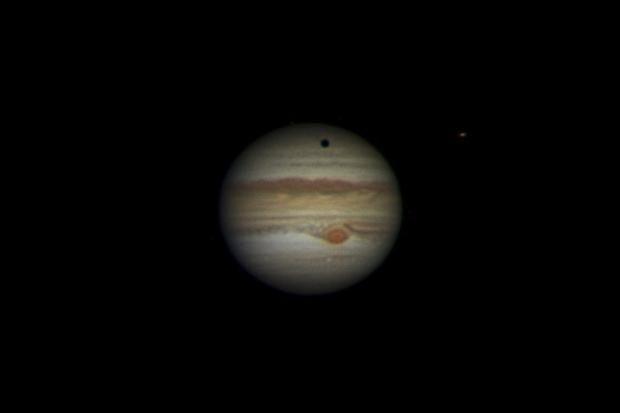 Jupiter 2019-07-10. RGB. Transit of Ganymede.,                                Pedro Garcia