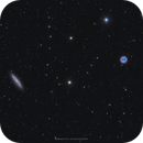 Messier 108 and Messier 97,                                Henrique Silva