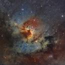 Sh2-155 la nébuleuse de la grotte SHO,                                astromat89
