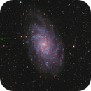 M33  OSC and Asteroid  (193613) 2001 CW13,                                sky-watcher (johny)