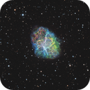 M1: Crab Nebula in SHO,                                Chris Sullivan