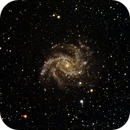 Fireworks galaxy,                                keving