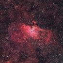 The Eagle (M16) Nebula in LRGB,                                David Nguyen