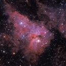 Part of Eta Carinae complex including Keyhole Nebula and Eta Carinae star,                                Marcelo Alves
