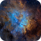 NGC6820  (SH2-86)  in Vulpecula,                                Arnaud Peel