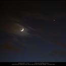 The Moon and Venus,                                Dominique Callant