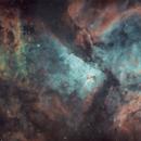 Carina Nebula- first mosaic attempt,                                Karl