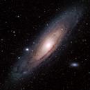M31 Andromeda Galaxy,                                Derek Ford