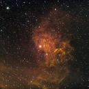 IC405 Star Flaming Nebula,                                Michel Audette