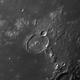 Moon : Crater Gassendi ( main crater of Mare Humorum),                                Wanni
