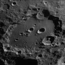 Comparaison de la lumière sur le Cratère Clavius aux 9ème & 10ème jour lunaire.,                                Georges