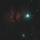 Flame Nebula (crop),                                allanv28