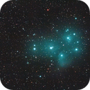 M45 - The Pleiades,                                Jan Scheers