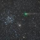 67P Comet and M35,                                KAZUHIRO NONOMURA