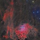 IC405 - The Flaming Star HaLRGB,                                Paddy Gilliland