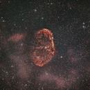 Crescent Nebula in Cygnus,                                Tom Marsala