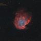 NGC 2174 ma première HOO,                                kaeouach aziz