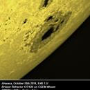 Sunspot try in 2014,                                umbarak