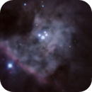 Orions Trapezium in R-G-B,                                Doc_HighCo