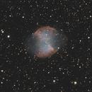 Messier 27 - The Dumbbell nebula - RGB,                                Jason R Wait