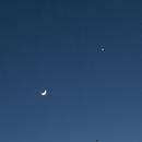Venus und Mond am Glaserhof,                                Gottfried Meissner