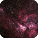 Caldwell 92 Eta Carinae Neblua with NGC3324/IC2599 Gum 31 Galactic Nebula and NGC3293 The Little Jewel Box ,                                Geoff Scott