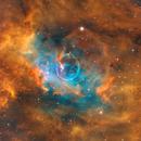The Bubble Nebula NGC 7635 (Hubble Palette),                                Bogdan Jarzyna