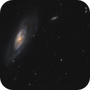 M106 and lots of background galaxies,                                Michael S.