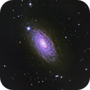 M 63, Sunflower Galaxy,                                w4sm