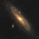 M31: The Andromeda Nebula ;),                                Glenn Diekmann
