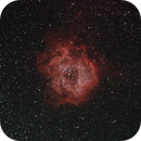 First try on Rosette Nebula with new Setup,                                Philip Kropf