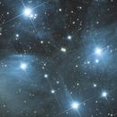 M45: The Pleiades,                                Garrett Hubing