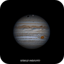 Jupiter with Ganymede transit in May 14,                                Rodrigo Andolfato