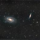 M81-M82 HaRGB with DSLR,                                Xplode