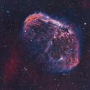 Crescent Nebula - 2-channel narrowband,                                TomBramwell