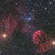 IC 443, Vdb 75 & IC444 Jellyfish Nebula LRGB,                                Niko Geisriegler